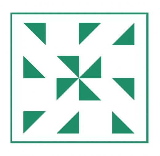 Geometrisches Muster Nr.01 | 15cm x 15cm - Schablonen für Fliese - Wand - Möbel|