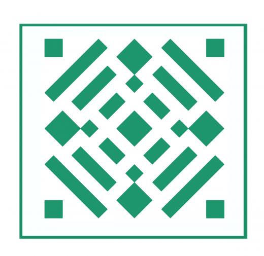 Geometrisches Muster Nr.02 | 10cm x 10cm - Schablonen für Fliese - Wand - Möbel|