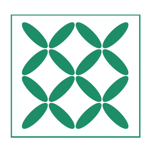 Geometrisches Muster Nr.05 | 20cm x 20cm - Schablonen für Fliese - Wand - Möbel|