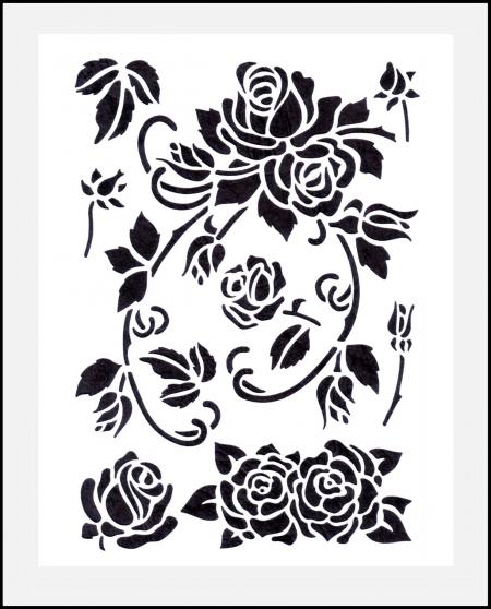 rosenschablonen