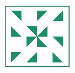 Geometrisches Muster Nr.01 | 10cm x 10cm - Schablonen für Fliese - Wand - Möbel|