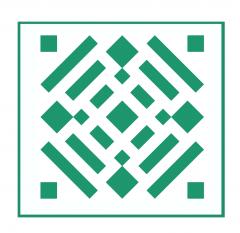 Geometrisches Muster Nr.02 | 15cm x 15cm - Schablonen für Fliese ● Wand ● Möbel