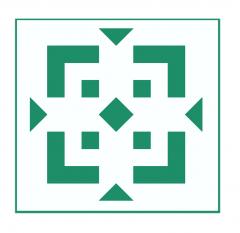 Geometrisches Muster Nr.04 | 10cm x 10cm - Schablonen für Fliese - Wand - Möbel|