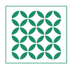 Geometrisches Muster Nr.06 | 20cm x 20cm - Schablonen für Fliese - Wand - Möbel|