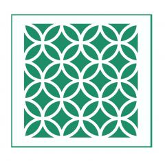 Orientalisches Muster Nr.07 | 15cm x 15cm - Schablonen für Fliese - Wand - Möbel|