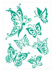 Motiv-Schablone Nr.3 Schmetterlinge